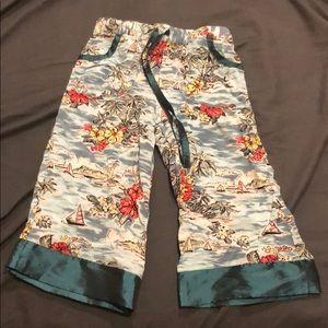 Other - Hawaiian theme flowy pants
